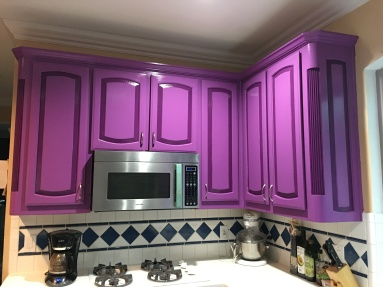 after painting - surprise!